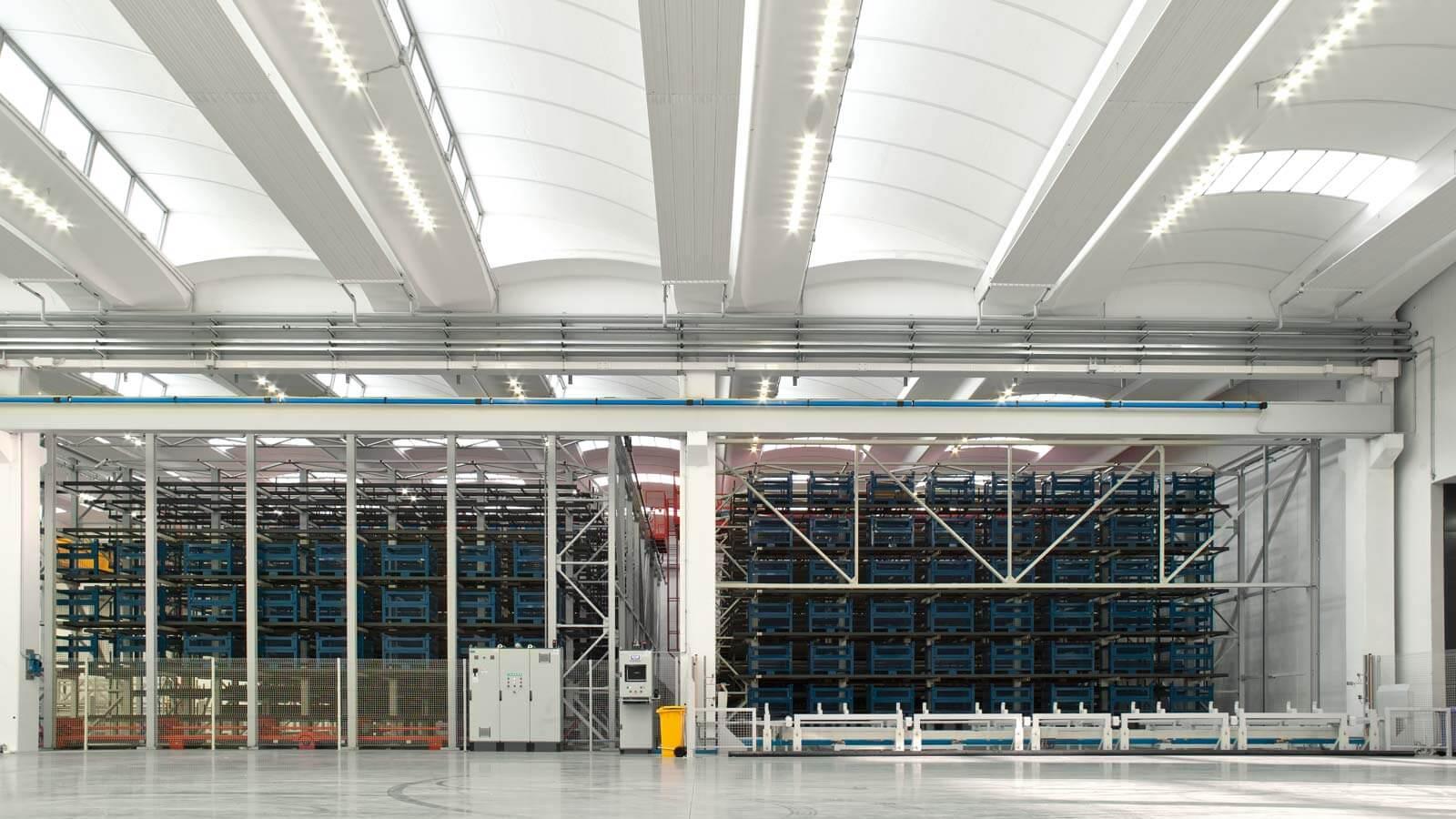 Progetto aec illuminazione sotto una nuova luce baraclit